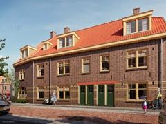 Has received an option.: Begoniastraat hs Construction number 8, 1031 GA Amsterdam
