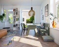 Onder optie: Meidoornplein vrd Bouwnummer 3, 1031 GA Amsterdam