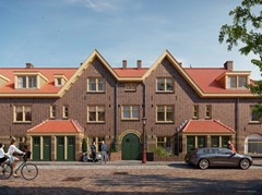 Has received an option.: Meidoornplein vrd Construction number 9, 1031 GA Amsterdam