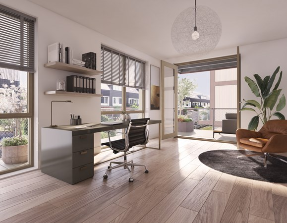 Medium property photo - Vrijstaand Bouwnummer 4, 1036 KR Amsterdam