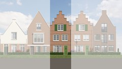 Has received an option.: Herenhuis 5.4 Construction number 41, 1135 Edam