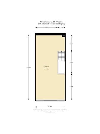 Floorplan - Nijverheidsweg 27, 3534 AM Utrecht