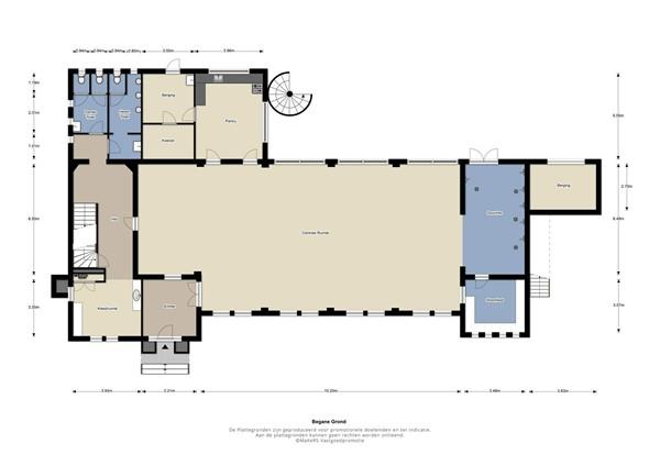 Floorplan - Heerlenseweg 143, 6371 HR Landgraaf