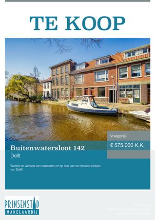 Brochure - Buitenwatersloot 142, 2613 SV DELFT (1) - Buitenwatersloot 142, 2613 SV Delft