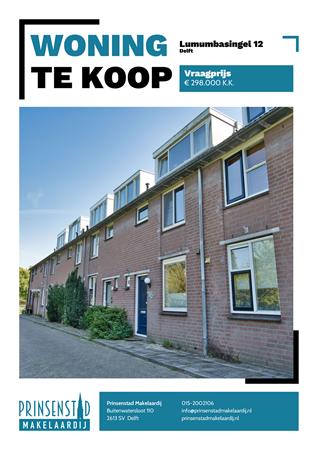 Brochure - Lumumbasingel 12, 2622 ED DELFT (1) - Lumumbasingel 12, 2622 ED Delft