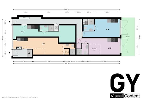 Plattegrond - Molenstraat 32B, 2611 KB Delft - 89089725_molenstraat_32_studios_studios_first_design_20201111131307.jpg