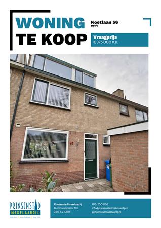 Brochure - Koetlaan 56, 2625 KT DELFT (1) - Koetlaan 56, 2625 KT Delft