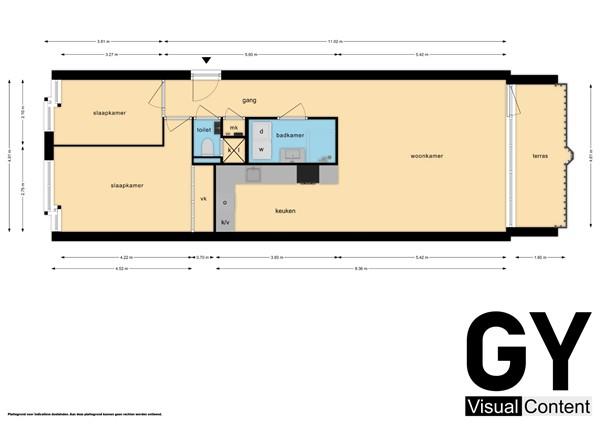 Plattegrond - Marshallplein 113, 2286 LK Rijswijk - Appartement.jpg
