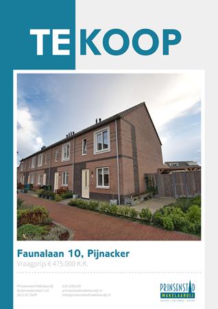 Brochure - Faunalaan 10, 2643 KT PIJNACKER (1) - Faunalaan 10, 2643 KT Pijnacker