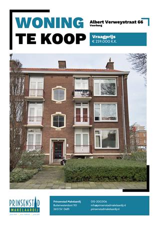 Brochure - Albert Verweystraat 66, 2274 LL VOORBURG (1) - Albert Verweystraat 66, 2274 LL Voorburg