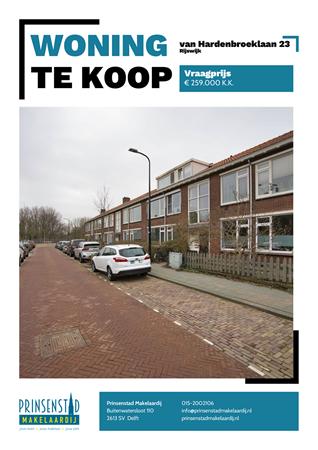 Brochure - van Hardenbroeklaan 23, 2288 CA RIJSWIJK (1) - van Hardenbroeklaan 23, 2288 CA Rijswijk