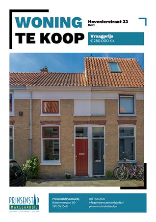 Brochure - Hovenierstraat 33, 2613 RM DELFT (3) - Hovenierstraat 33, 2613 RM Delft