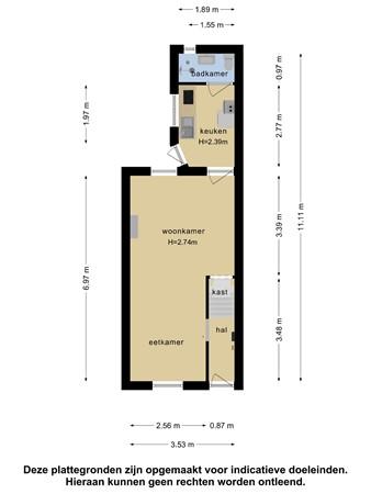 Plattegrond - Hovenierstraat 33, 2613 RM Delft - 103152042_hovenierstraat_33_begane_grond_first_design_20210604081114.jpg
