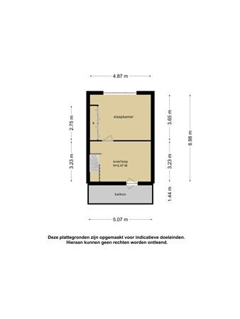Plattegrond - Chinalaan 28, 2622 JT Delft - 101360526_chinalaan_28_2e_verdieping_2e_verdieping_20210511061638.jpg