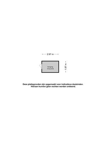 Plattegrond - Chinalaan 28, 2622 JT Delft - 101360526_chinalaan_28_berging_berging_20210511061638.jpg
