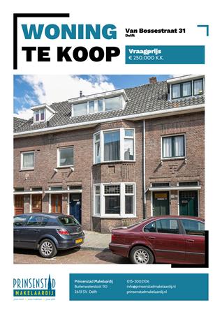 Brochure - Van Bossestraat 31, 2613 CN DELFT (1) - Van Bossestraat 31, 2613 CN Delft