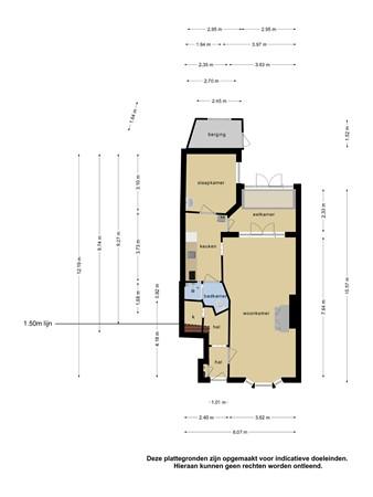 Plattegrond - Van Bossestraat 31, 2613 CN Delft - 106223082_van_bossestraat_31_begane_grond_first_design_20210803122650.jpg