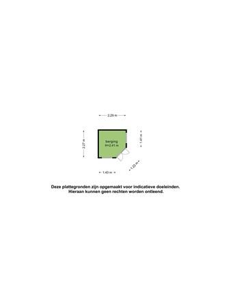 Plattegrond - P.C. Boutenspad 11, 2624 VL Delft - 106468656_pc_boutenspad_11_berging_first_design_20210810054544.jpg