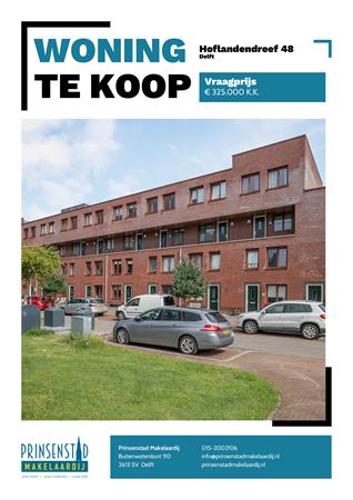 Brochure - Hoflandendreef 48, 2614 MV DELFT (1) - Hoflandendreef 48, 2614 MV Delft
