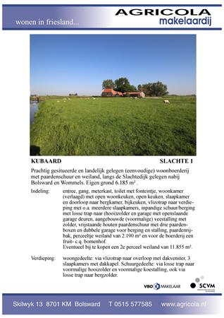 Brochure preview - kubaard, slachte 1, brochure