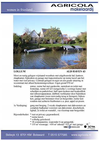 Brochure preview - lollum, ald haven 43, brochure