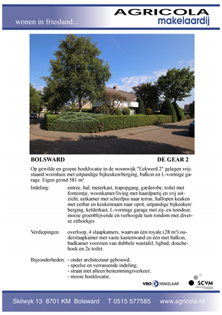 Brochure preview - bolsward, de gear 2, brochure
