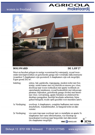 Brochure preview - bolsward, de ljip 27, brochure