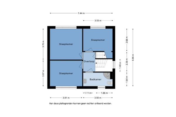Floorplan - Haagpoort 14, 5346 LD Oss