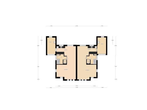 Floorplan - Jansbuitensingel Bouwnummer 4, 6811 AA Arnhem