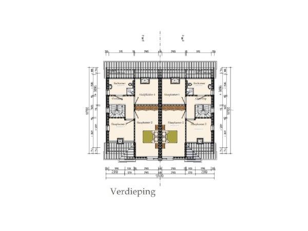 Floorplan - Jansbuitensingel Bouwnummer 9, 6811 AA Arnhem