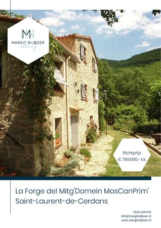 Brochure preview - La Forge d'El Mitg 66260, 66260 SAINT-LAURENT-DE-CERDANS (1)