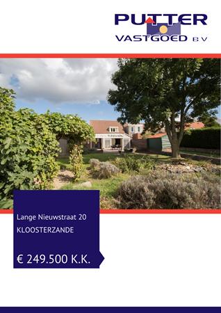Brochure preview - Lange Nieuwstraat 20, 4587 RJ KLOOSTERZANDE (1)