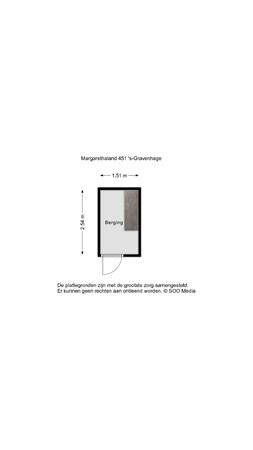 Margarethaland 451, 2591 VD The Hague -