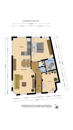 Soestdijksekade 318, 2574 BS Den Haag - 103781148_soestdijksekade_318_den_haag_zh_appartement_first_design_20210615081558.jpg
