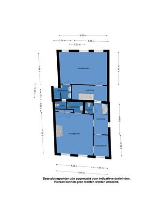 Floorplan - Pruikmakershoek 10, 8754 ET Makkum
