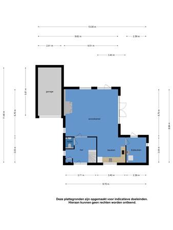 Floorplan - Scheurrak 11, 8754 DG Makkum