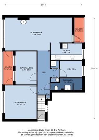 Oude Kraan 30-4, 6811 LK Arnhem - floorplanner_plattegronden_topr_Oude_Kraan_30-4_Arnhem_Van_Gelre_Makelaardij_01.jpg