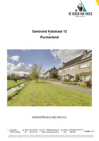 Brochure preview - presentatie gerbrand katstraat 12