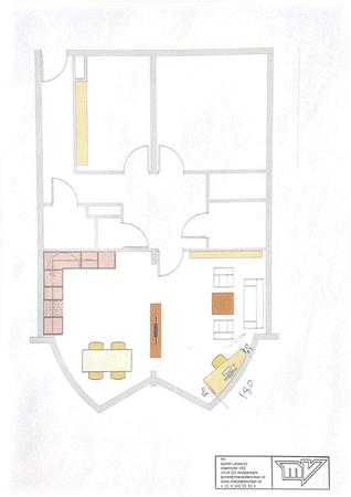 Floorplan - Borssenburgplein 151, 1078 WB Amsterdam