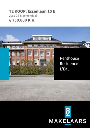 Brochure preview - Essenlaan 10-E, 2061 GB BLOEMENDAAL (1)