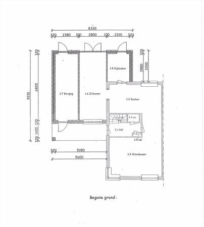 Floorplan - Klaproos 13, 8141 DA Heino