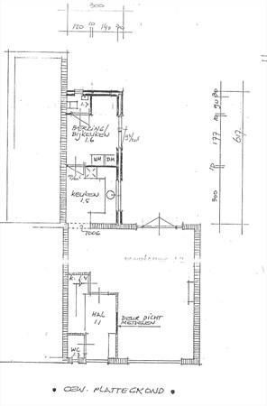 Floorplan - Luttenbergerweg 10, 8105 RV Luttenberg
