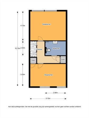 Floorplan - Vederkruid 11, 7443 KG Nijverdal
