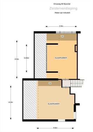 Floorplan - Ericaweg 96, 7441 BR Nijverdal