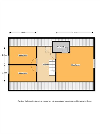 Floorplan - Schaapskooiweg 7, 7443 PX Nijverdal