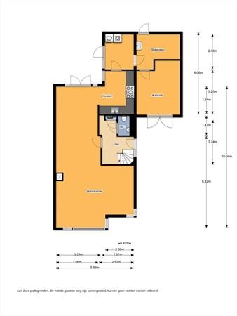 Floorplan - Steenanjer 3, 7443 TW Nijverdal