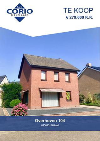 Brochure preview - Overhoven 104, 6136 EH SITTARD (2)