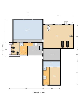 Floorplan - Einderstraat 1, 6414 NG Heerlen