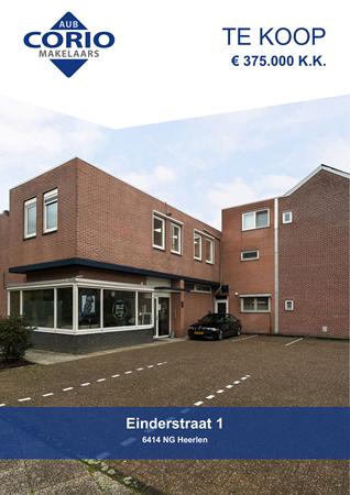 Brochure preview - Einderstraat 1, 6414 NG HEERLEN (2)
