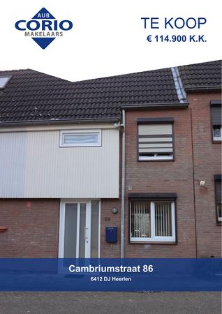 Brochure preview - Cambriumstraat 86, 6412 DJ HEERLEN (2)